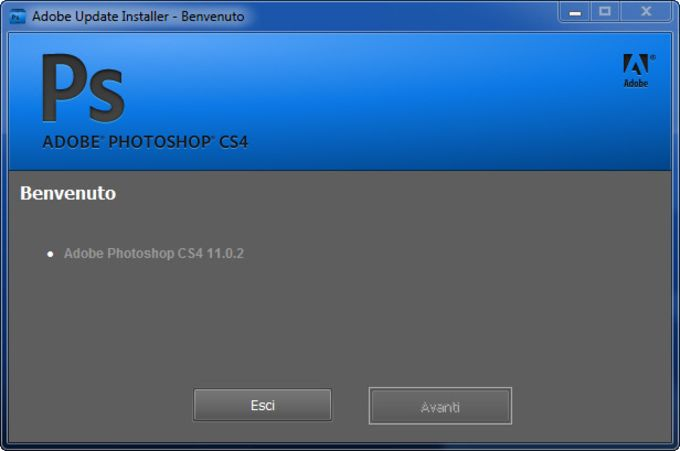 Adobe Photoshop CS4 update