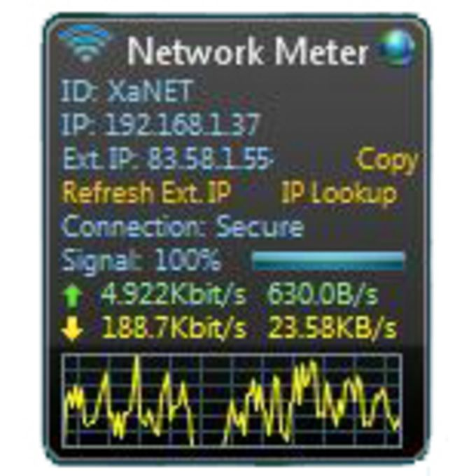 Wireless Network Meter