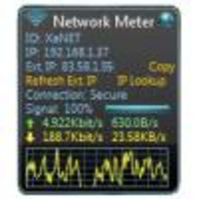 Wireless Network Meter