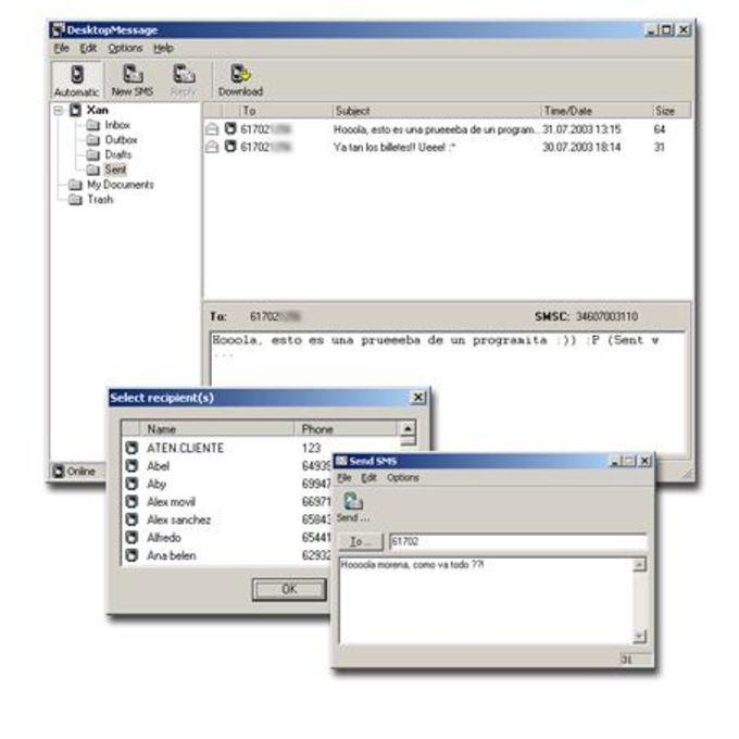 DesktopMessage