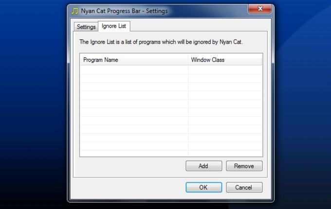 Nyan Cat Progress Bar