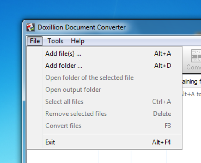 Doxillion Document Converting Software