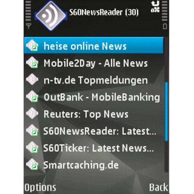 S60 News Reader