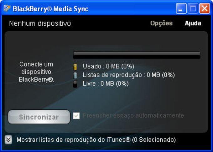 BlackBerry Media Sync