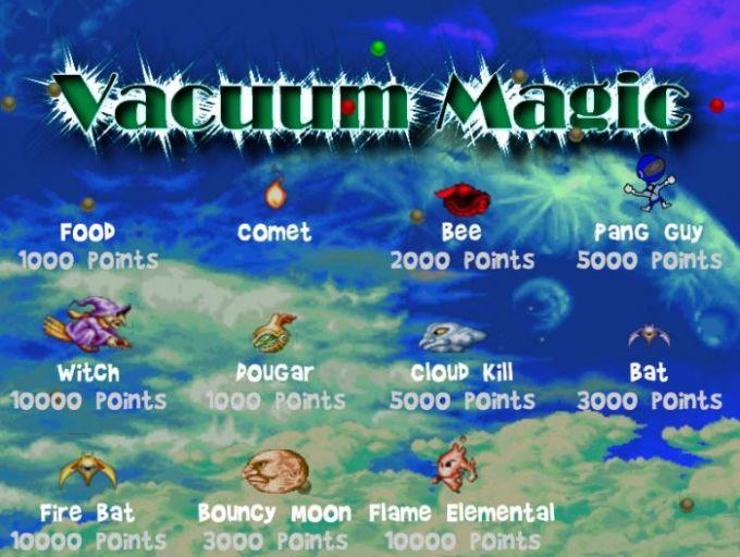 Vacuum Magic