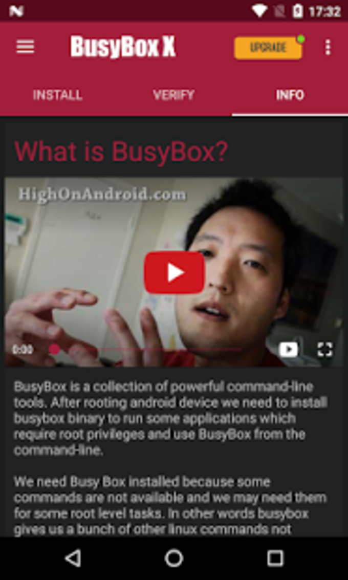 BusyBox Root X