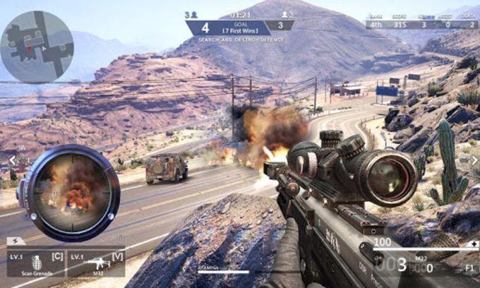 Mountain Sniper Shooter Elite Assassin