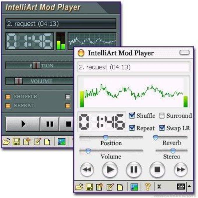 IntelliArt Mod Player