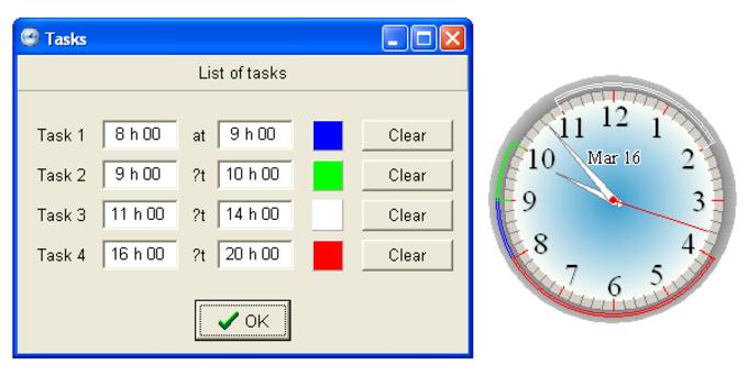 Free Organizer Clock