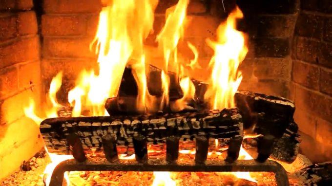 Fireplace!