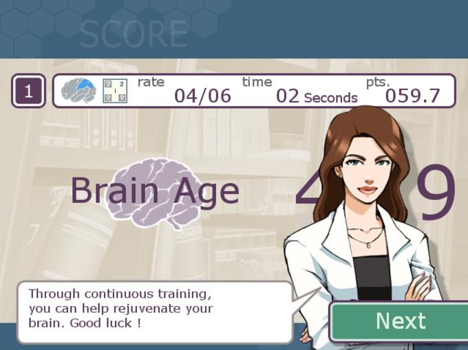 Brain Training con el Dr. Kawashima