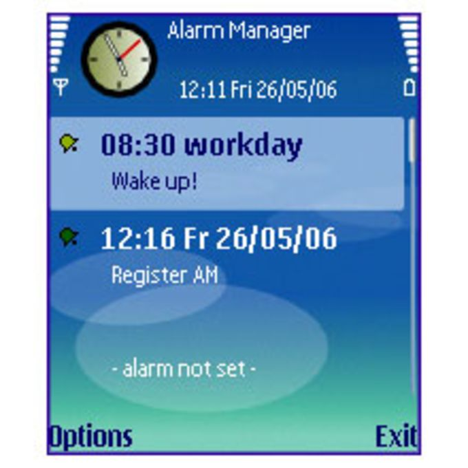 Alarm Manager