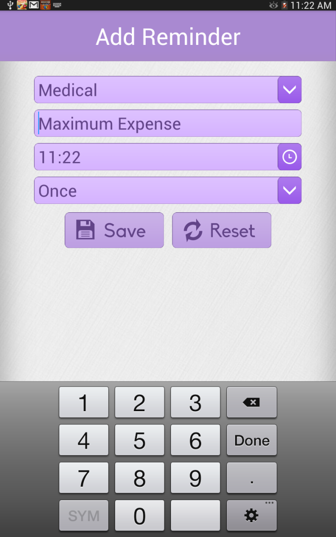 Expense Diary Money Manager