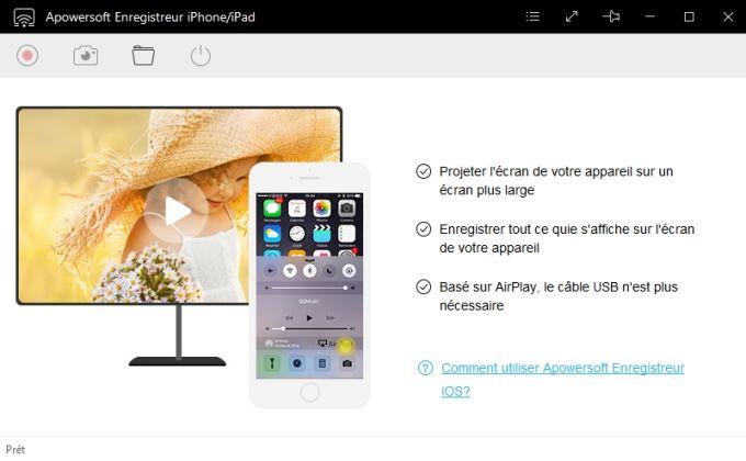 Apowersoft Enregistreur iPhone/iPad