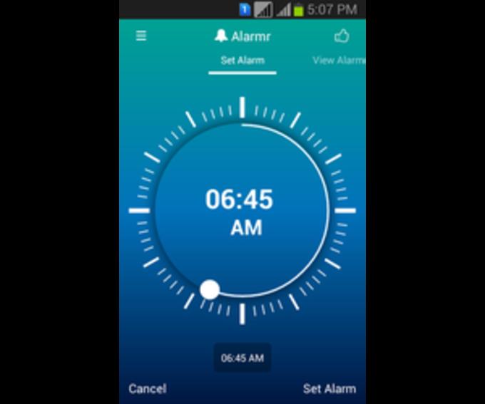 Alarmr: Digital Wake up Clock
