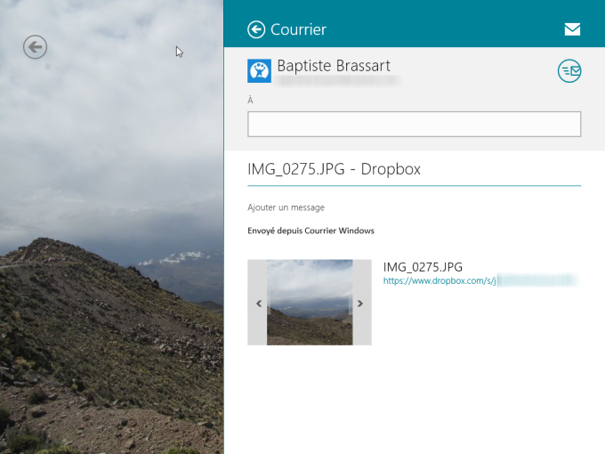 Dropbox pour Windows 10