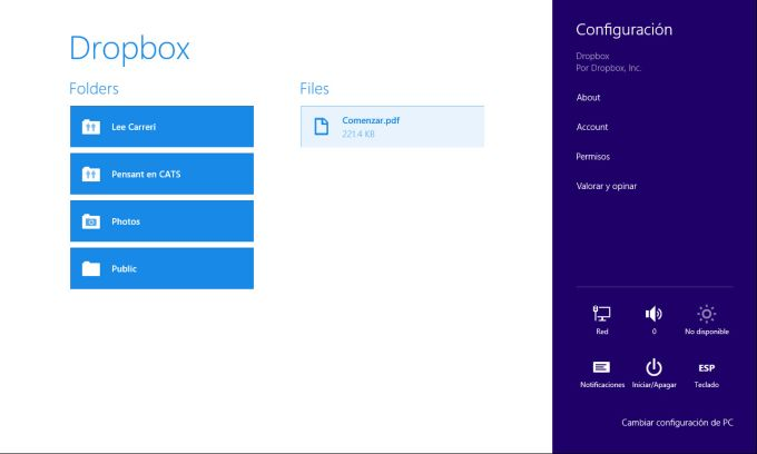 Dropbox for Windows 10