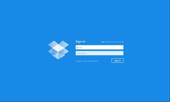 Dropbox voor Windows 10