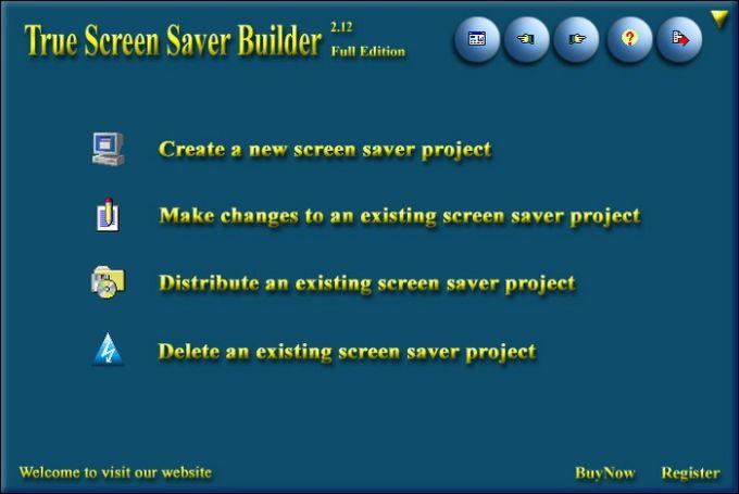 The Screen Saver Builder