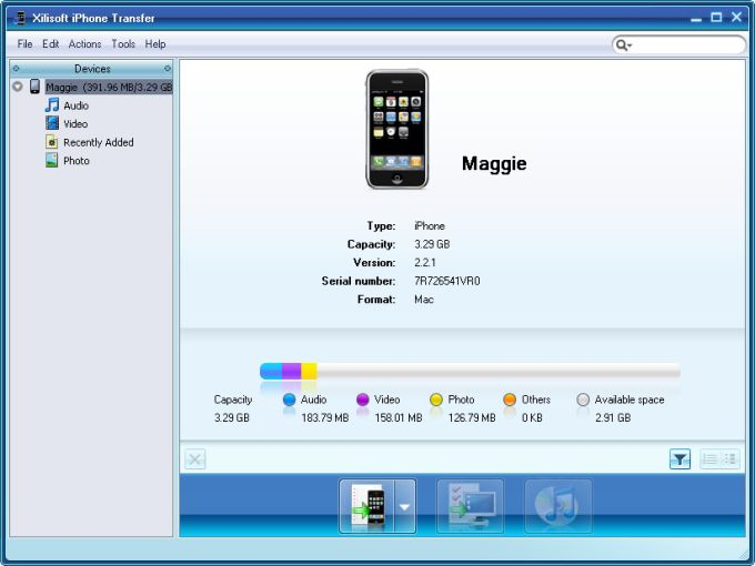 Xilisoft iPhone Software Suite