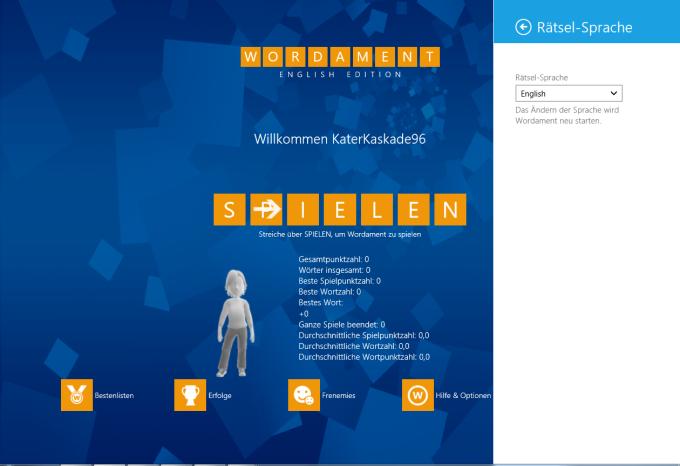 Wordament für Windows 10
