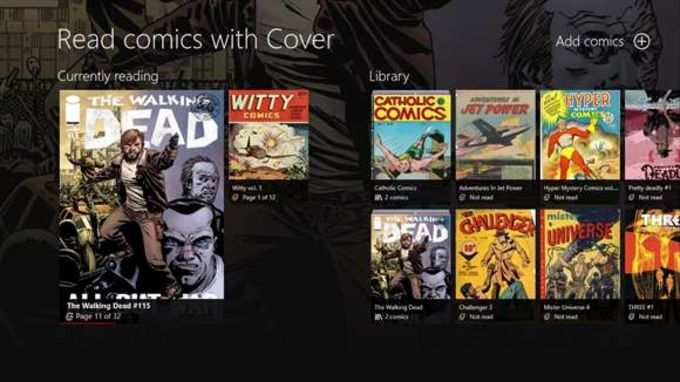 Cover-Comics Reader