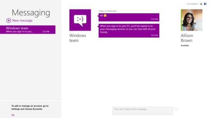Mail, Calendar for Windows 10