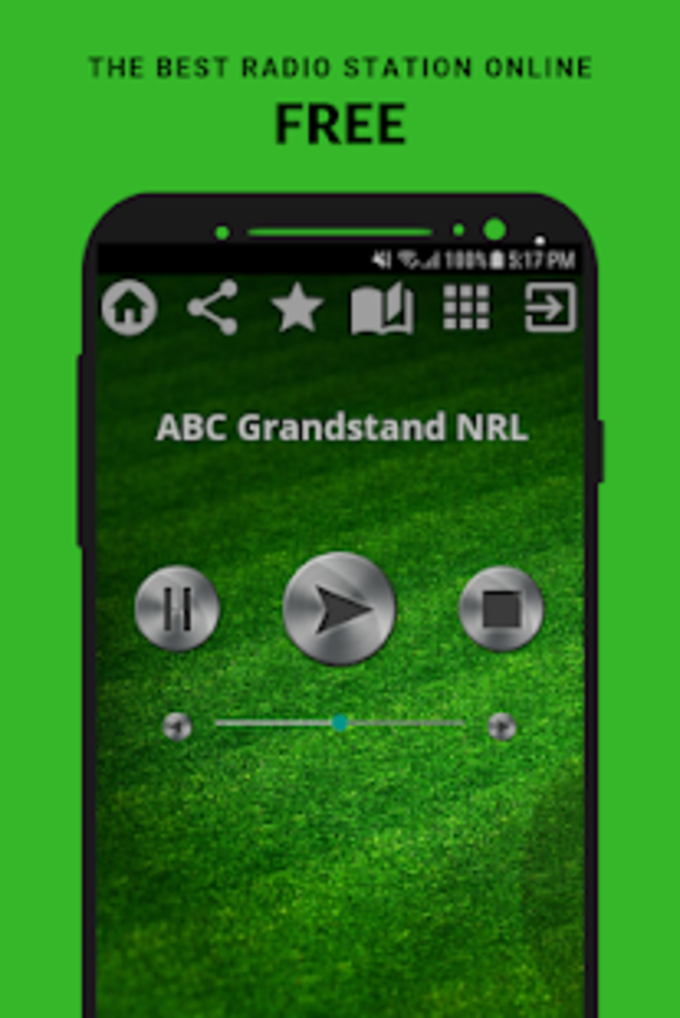 ABC Grandstand NRL Radio App AU Free Online for Android - Download