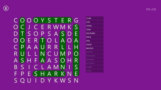 Word Search Party for Windows 10