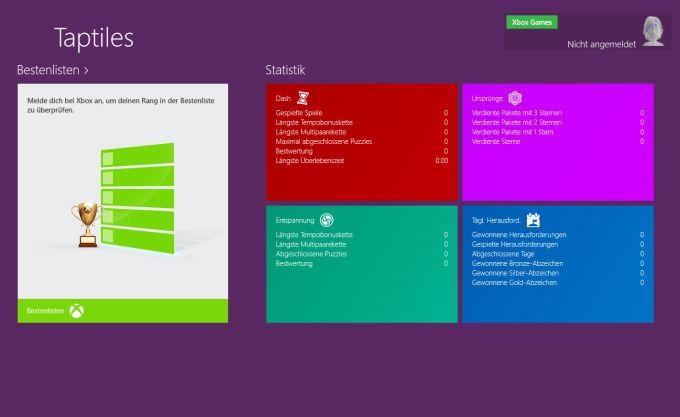 Taptiles für Windows 10