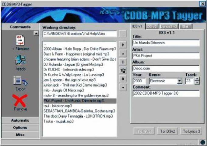 CDDB-MP3-Tagger