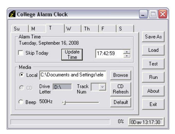 College Alarm Clock