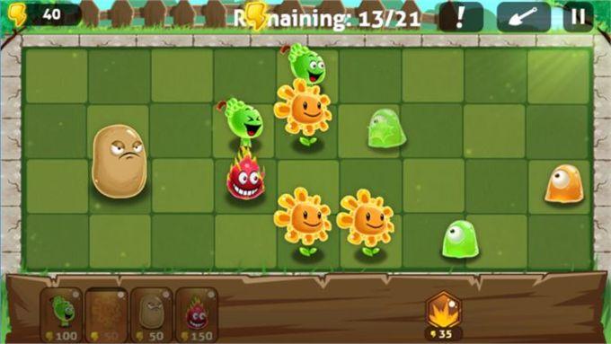 Plants vs Monsters - Zombie Craft