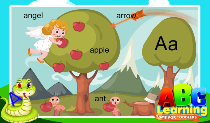 ABC Learning Game For Toddlers