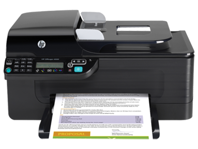 HP Officejet 4500 All-in-One Printer drivers
