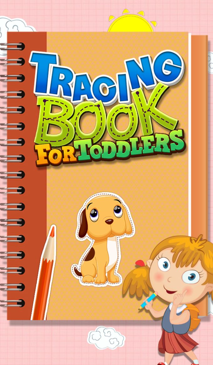 Tracing Book For Toddlers