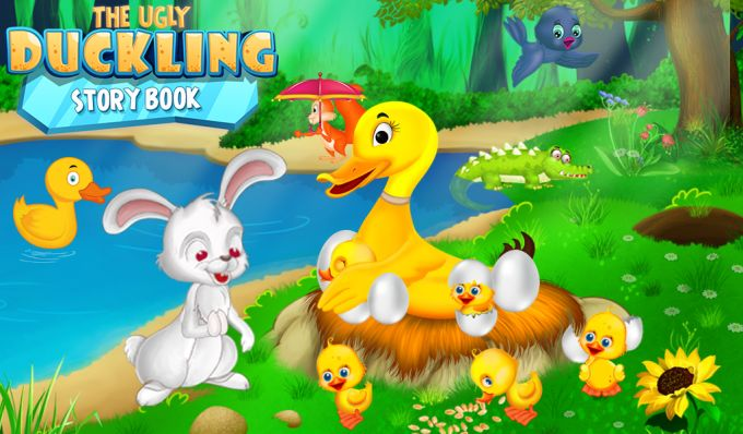 The Ugly Duckling Story Book