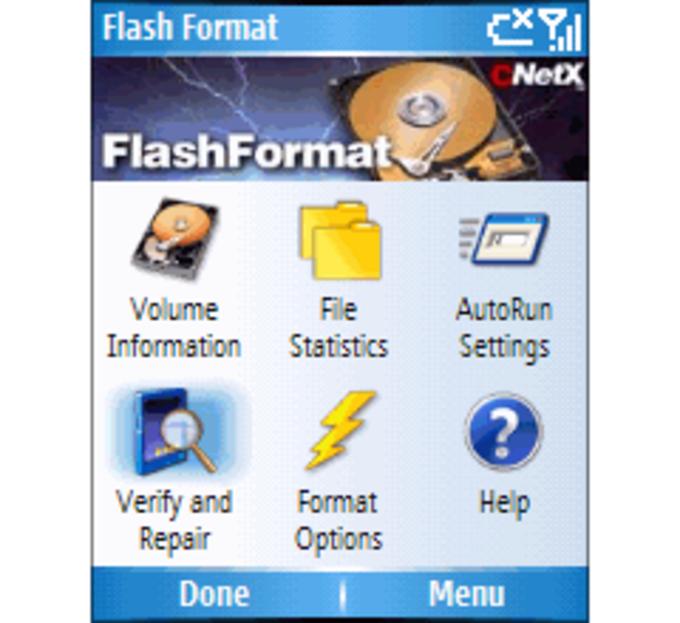 Flash Format