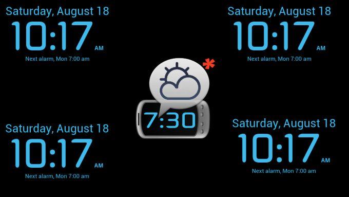 WakeVoice alarm clock