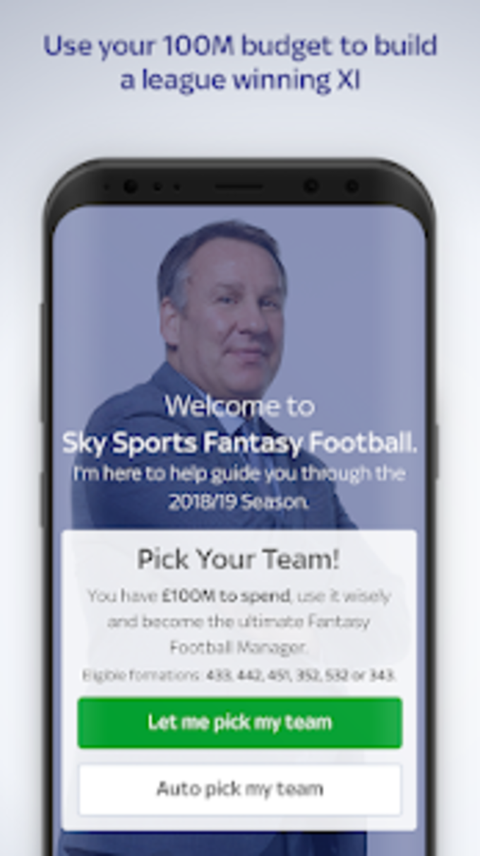 Sky Sports Fantasy Football for Android - Download