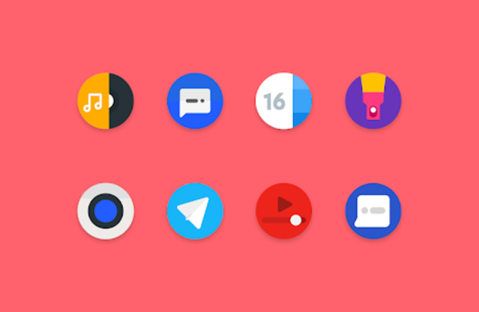 Popsicle  Icon Pack