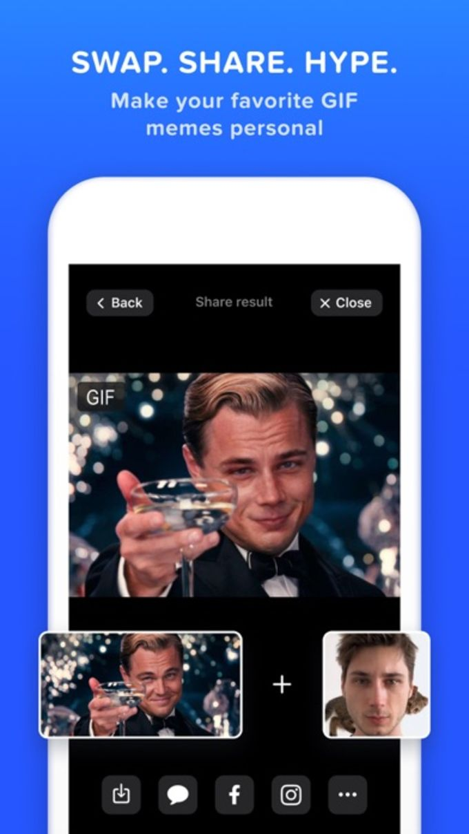 Doublicat: Face Swap Pictures