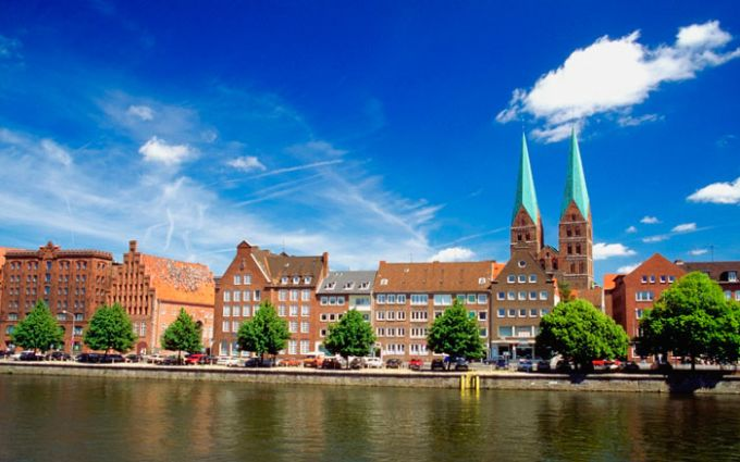 Trave in Lübeck