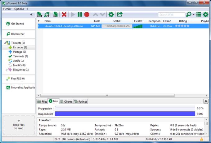 uTorrent Beta