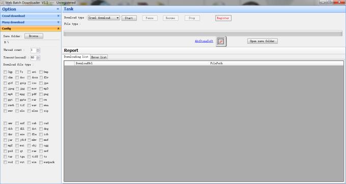 Web Batch Downloader