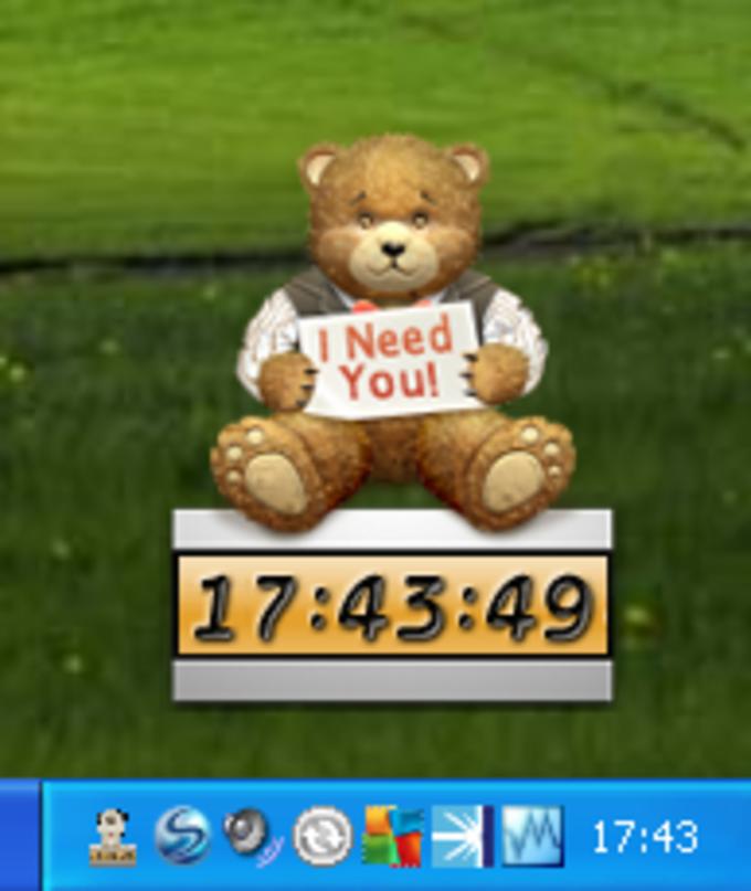 Desktop Pet Clock