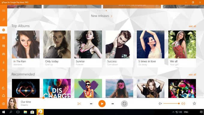 gPlayer for Google Play Music PRO