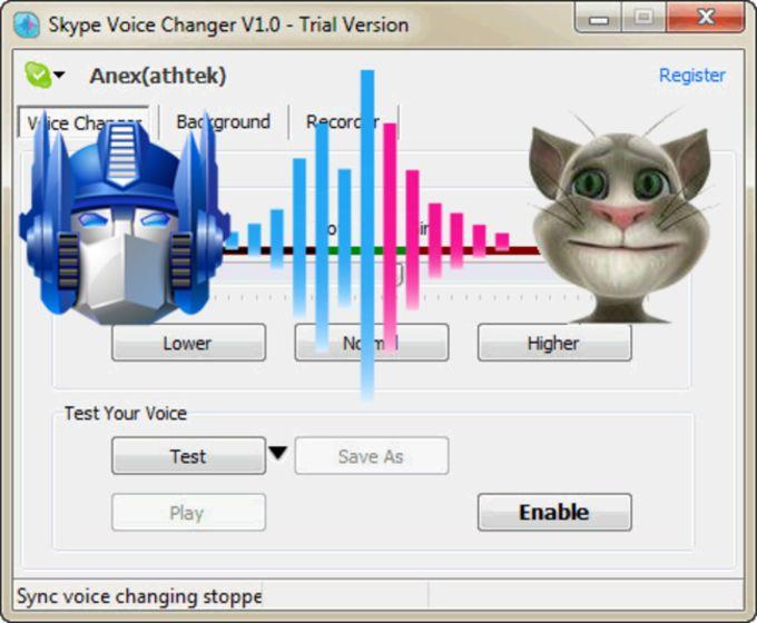 AthTek Skype Voice Changer
