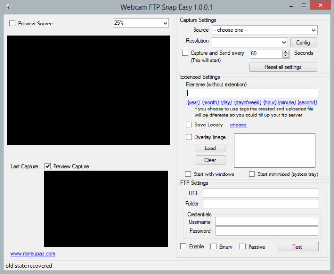 Webcam FTP Snap Easy