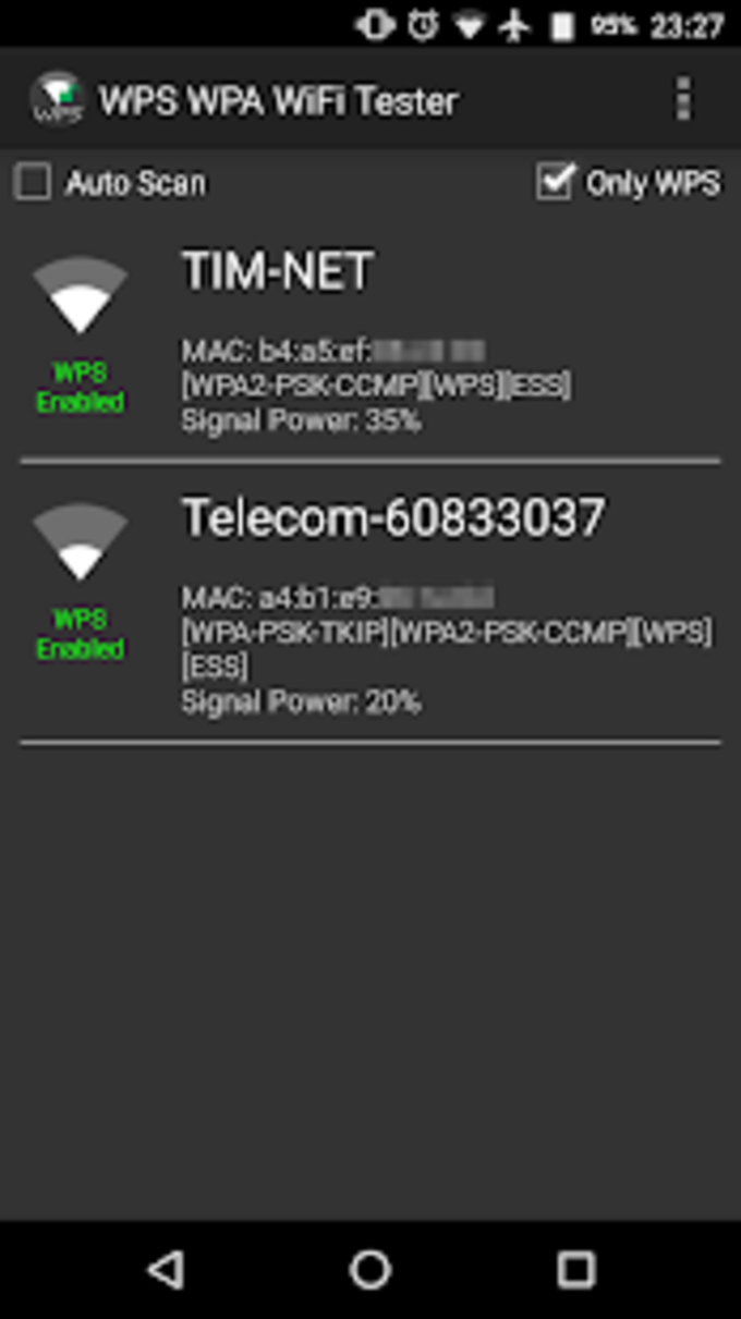 WPS WPA WiFi Tester PRO